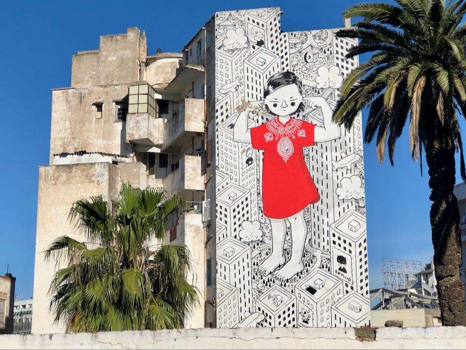 Casablanca Street Art, Millo