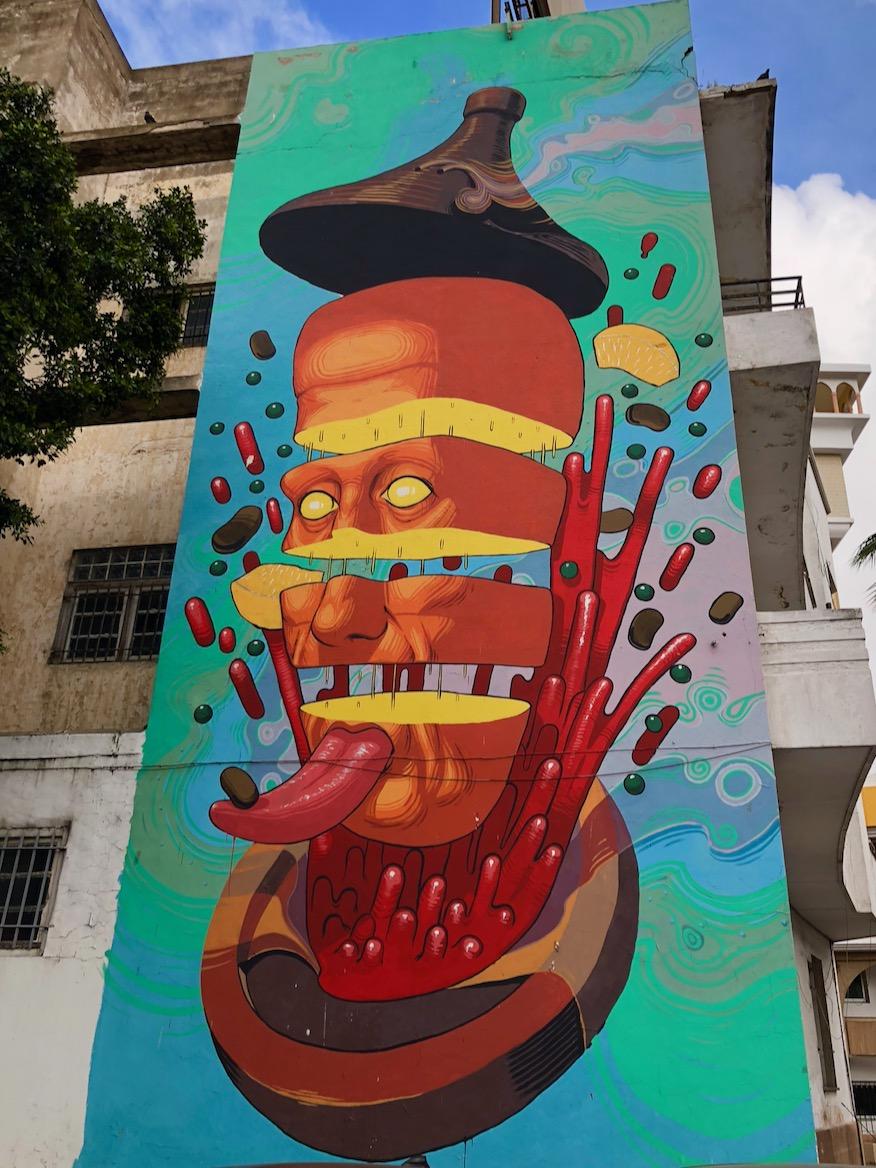 Casablanca Street Art, Normal