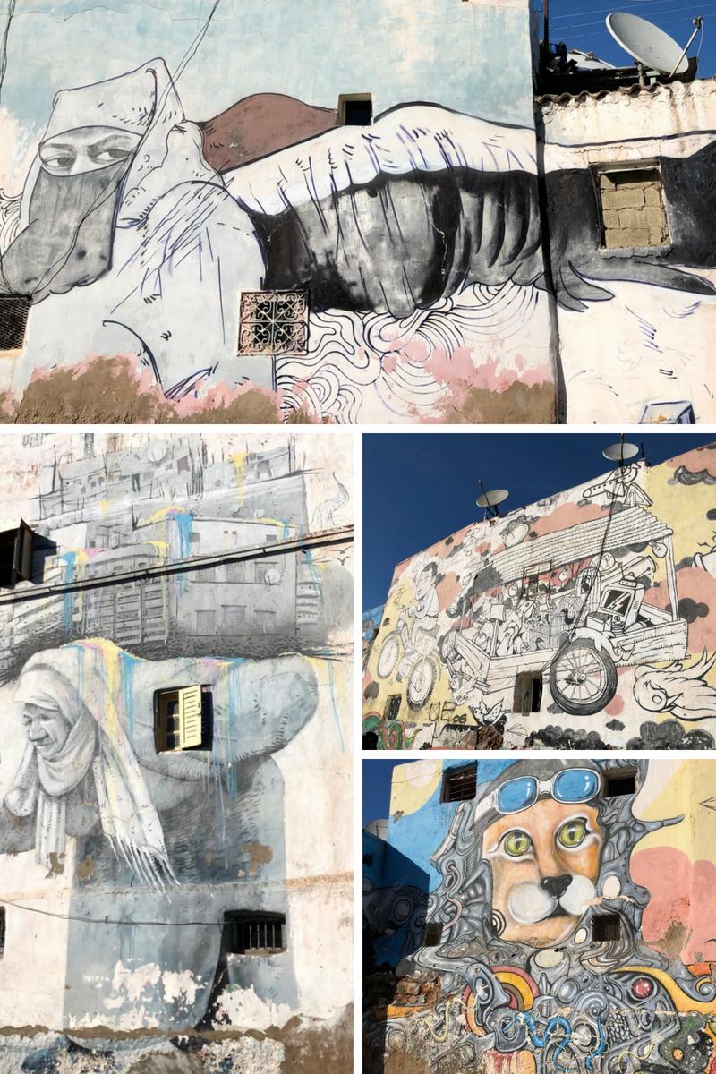 Casablanca Old Medina Street Art
