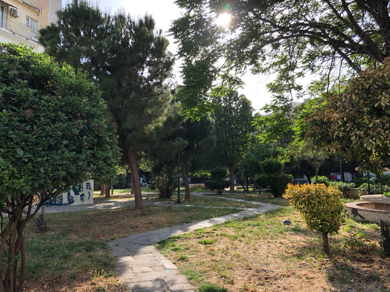 Athens side streets