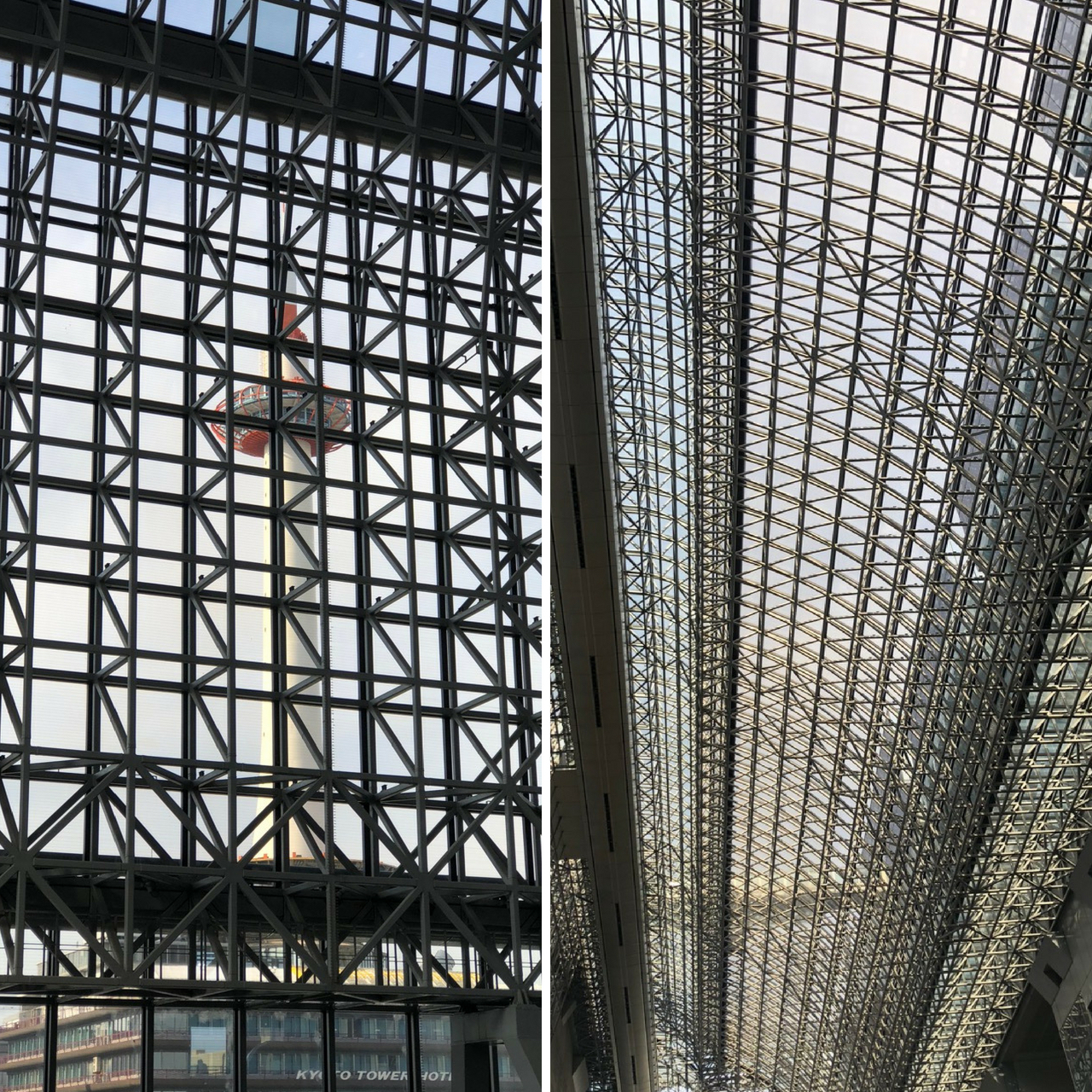 Kyoto Station is the epitome of the modern Japanese architecture
