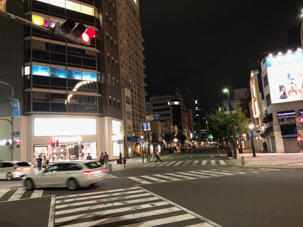 Kobe at night