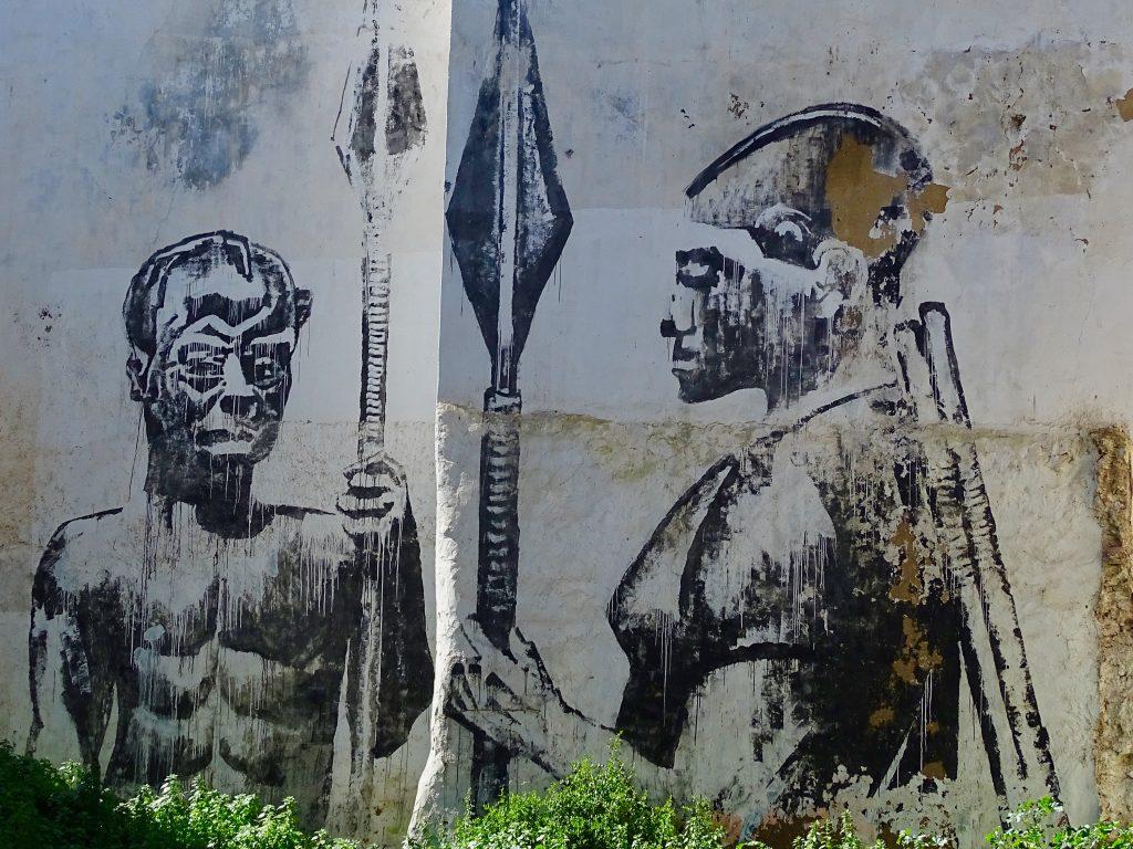 Azemour street art