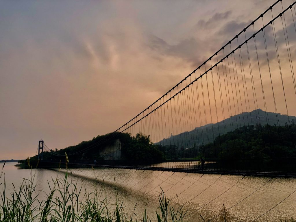 Pedestrian bridge in Taiwan
