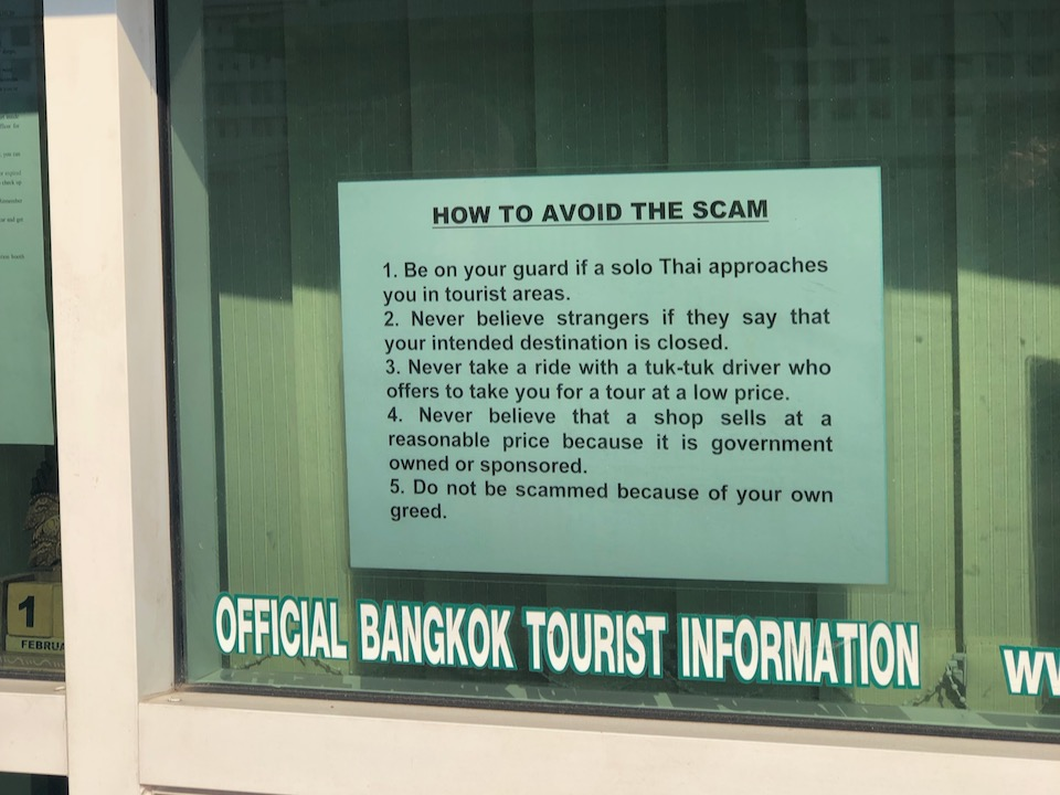 Official Bangkok Tourist Information