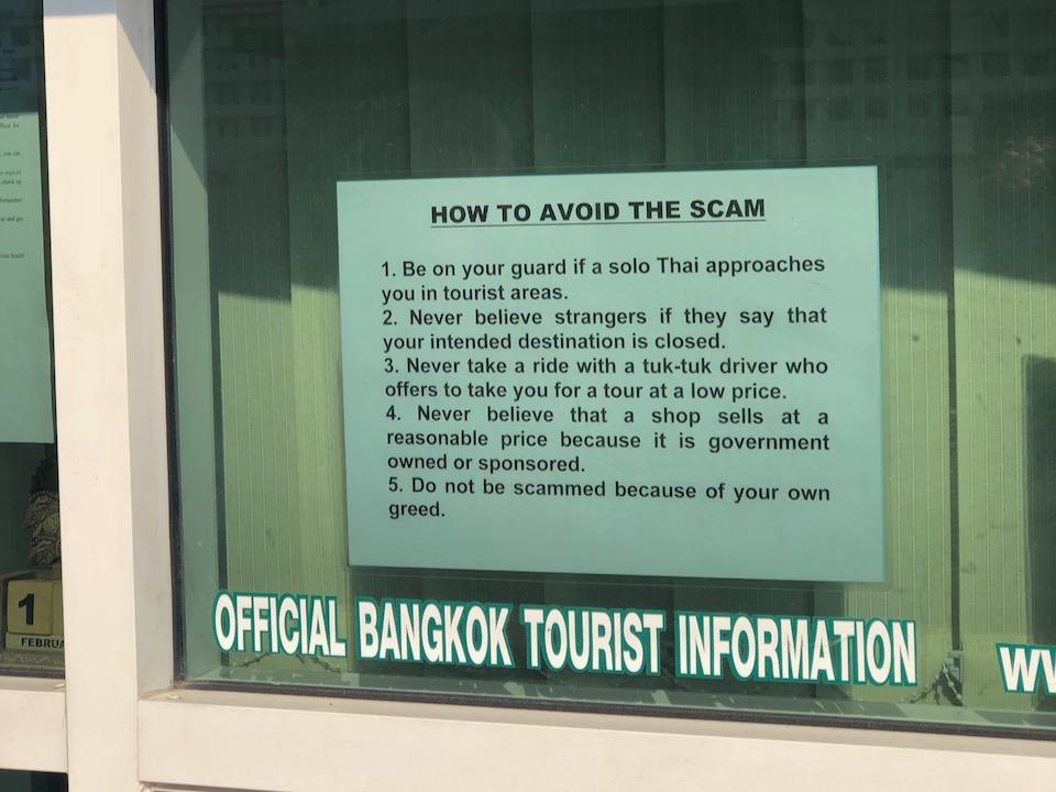 Official Bangkok Tourist Information