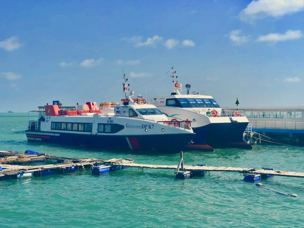 GreenLines Fast Ferry Boats In Vung Tau