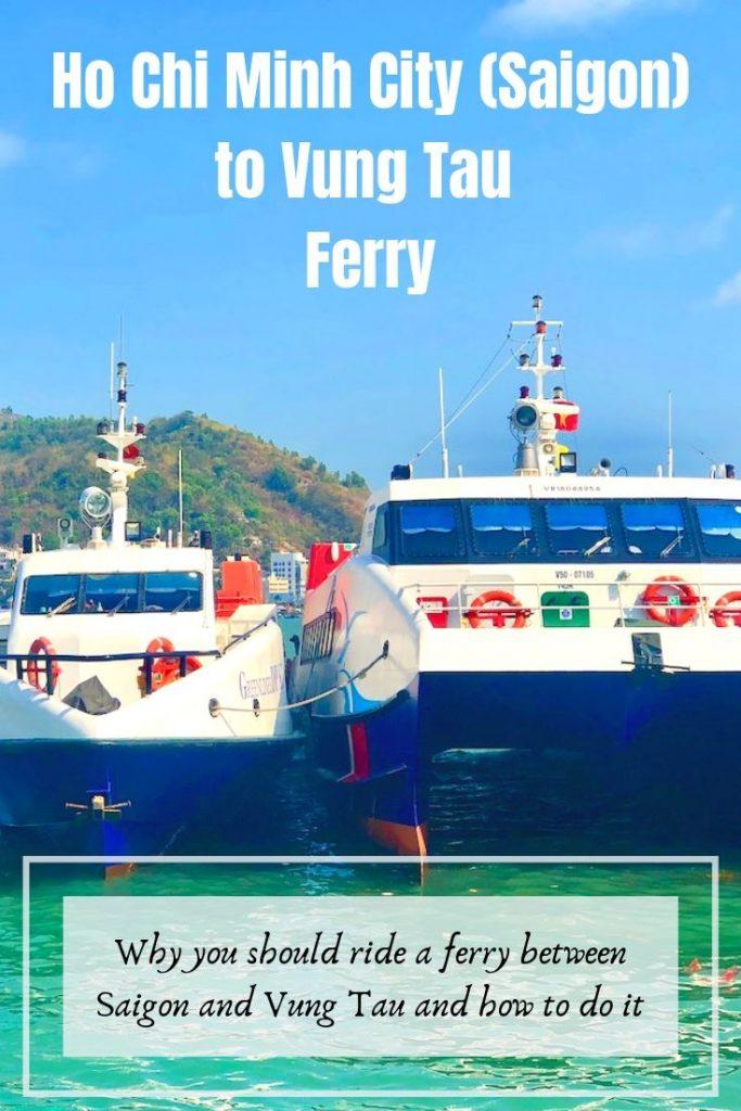 Saigon to Vung Tau Ferry