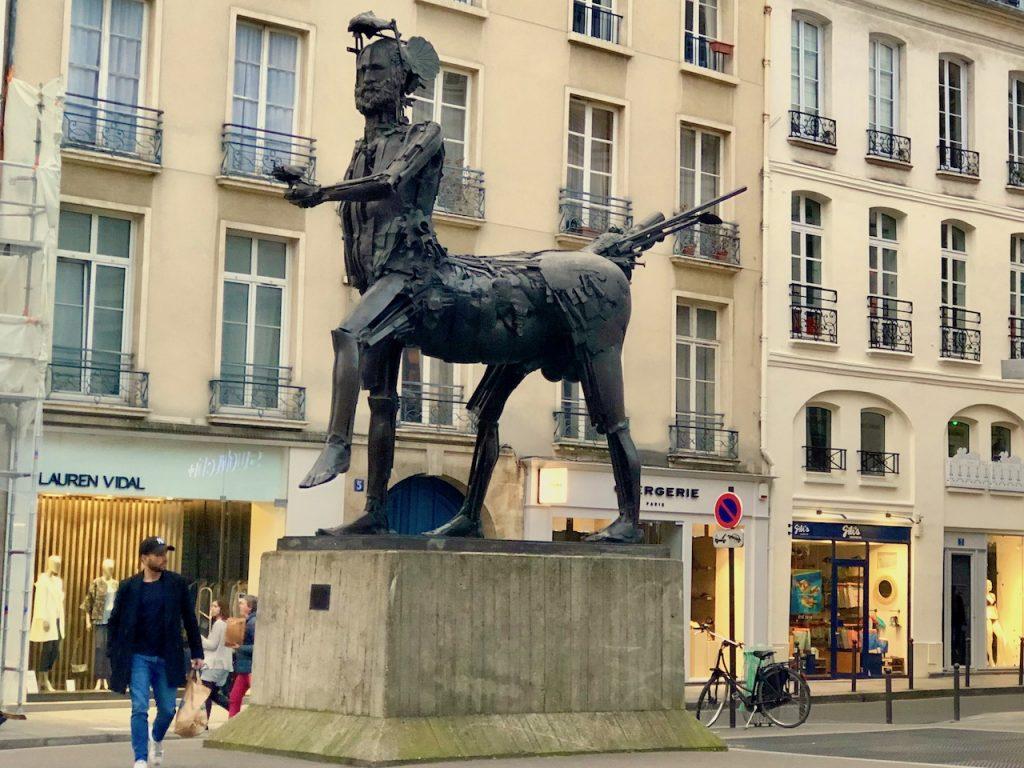 Paris Offbeat: The Centaur by Cesar