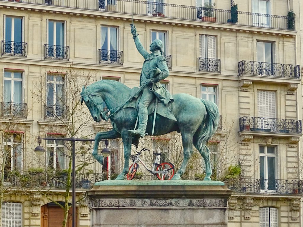 Statue of George Washington In Paris