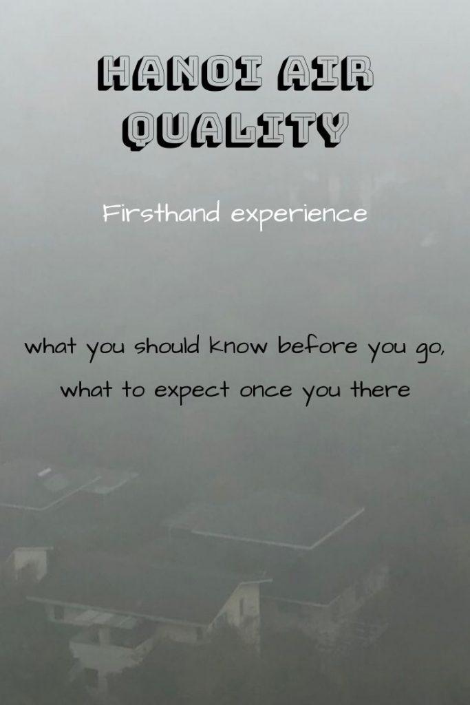 Hanoi Air Quality Pin