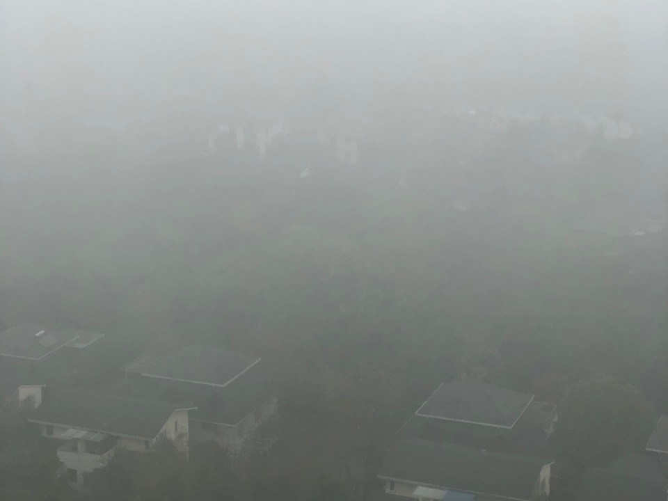 air quality is poor during winter in Hanoi
