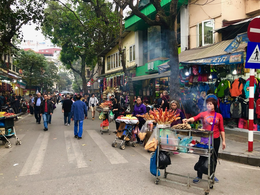 Hanoi in winter