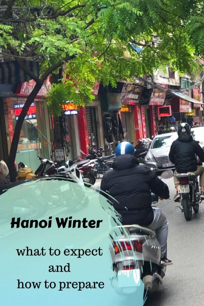 Winter In Hanoi Pin