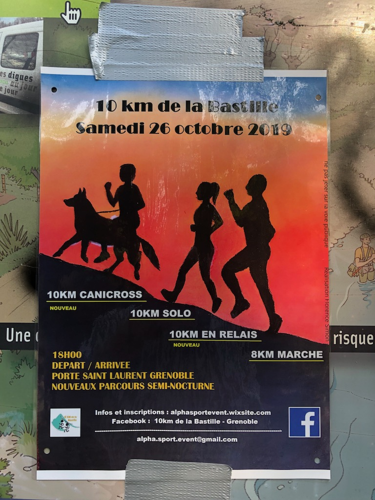 Local Sports Event Poster